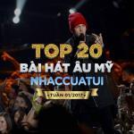 Download nhạc Top 20 Bài Hát Âu Mỹ NhacCuaTui Tuần 1/2017 Mp3 online