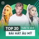 Tải bài hát Mp3 Top 20 Bài Hát Âu Mỹ Tuần 15/2019 miễn phí
