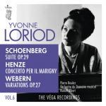 Download nhạc hot Schoenberg: Suite, Op. 29 / Henze: Concerto Per Il Marigny / Webern: Variations, Op. 27 trực tuyến